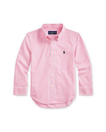 Ralph Lauren - Boys' Gingham Poplin Shirt - Little Kid