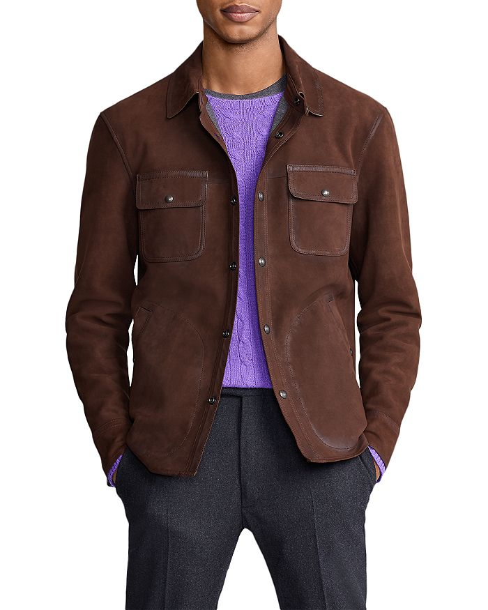 Polo Ralph Lauren - Nubuck Leather Shirt Jacket