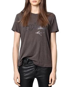 Zadig & Voltaire - Azedi Embellished T-Shirt