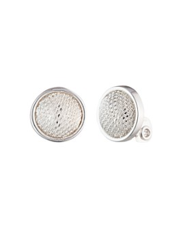 Ralph Lauren - Mesh Button Clip-On Earrings