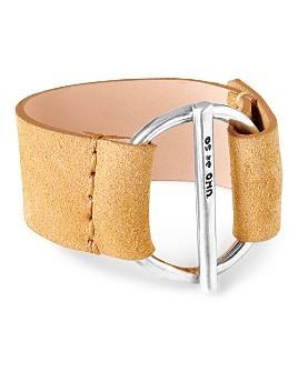 Uno de 50 - Watt's Up Suede Buckle Bracelet