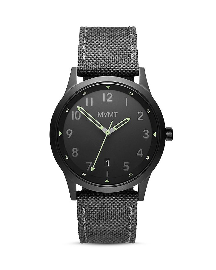 MVMT - Field Canvas Strap Watch, 41mm