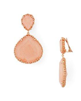 Kendra Scott - Kenzie Stone Drop Clip-On Earrings