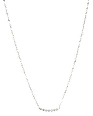 Freida Rothman Cubic Zirconia Bezel Bar Necklace, 16-18