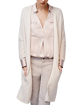 b new york - Open-Front Chunky Cardigan