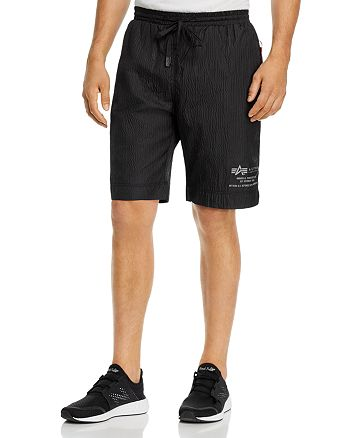 Alpha Industries - Parachute Textured Taffeta Slim Fit Shorts
