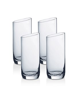 Villeroy & Boch - New Moon Highball Glasses, Set of 4