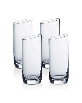 Villeroy & Boch - New Moon Highball Glasses, Set of 4