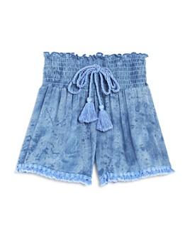 Vintage Havana - Girls' Smocked Tassel Shorts - Big Kid