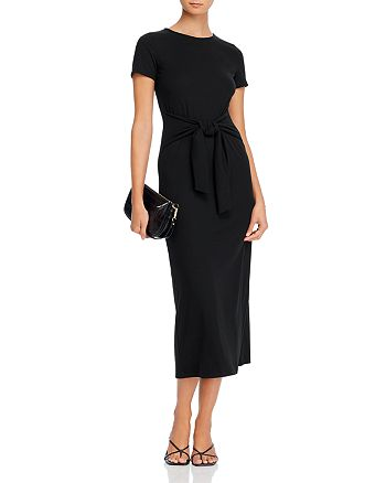 AQUA - Tie-Waist Maxi Dress - 100% Exclusive