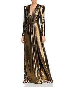 Rachel Zoe - Rosalee Metallic Gown