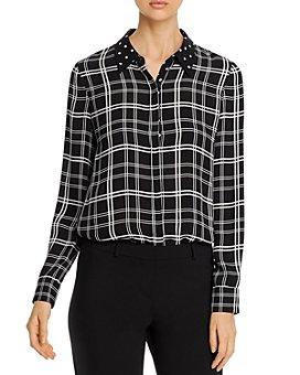 Elie Tahari - Ingunn Printed Button-Up Shirt