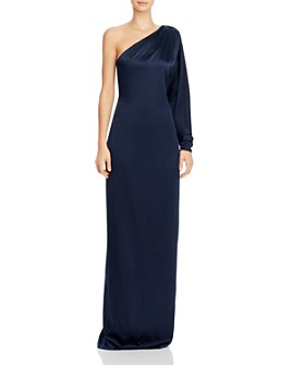 Cushnie - One-Shoulder Column Gown