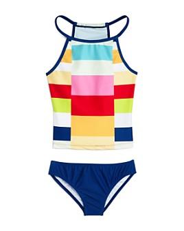 Limeapple - Girls' Alexia Colorblock Two-Piece Swimsuit - Little Kid