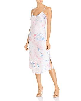 FRENCH CONNECTION - Tie-Dyed Print Slip Dress