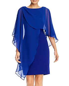 Eliza J - Capelet Sheath Dress