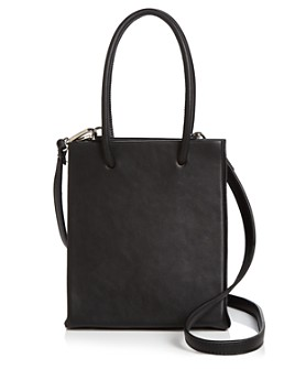 AQUA - Small Black Shopper Tote - 100% Exclusive