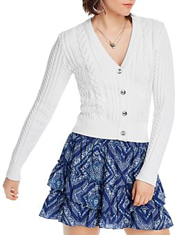 LINI - Isla Cable-Knit Cardigan - 100% Exclusive