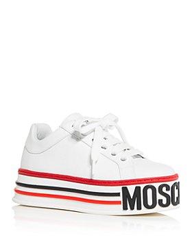 Moschino - Women's Platform Low-Top Sneakers