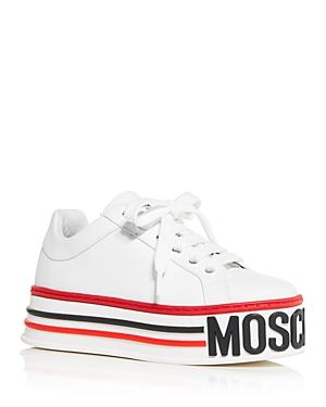 Moschino Women\\\'s Platform Low-Top Sneakers