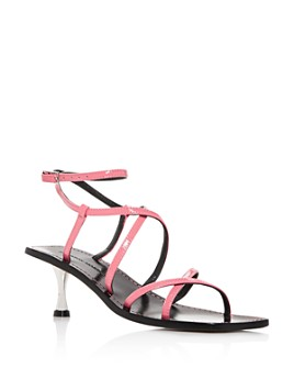 Sigerson Morrison - Women's Irma Square-Toe Strappy Sandals