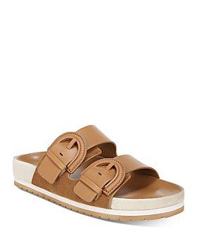 Vince - Women's Glyn Double Buckle Slide Sandals