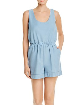 FRENCH CONNECTION - Zaina Chambray Romper