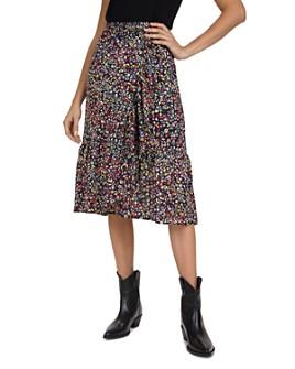 Gerard Darel - Liccia Ruffled Midi Skirt