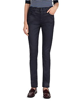 Gerard Darel - Maureen Coated Skinny Jeans in Blue