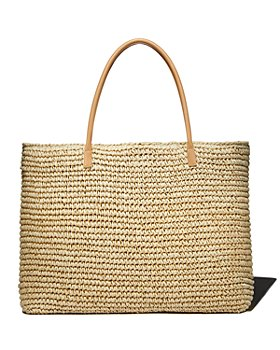 AQUA - Extra-Large Woven Tote - 100% Exclusive