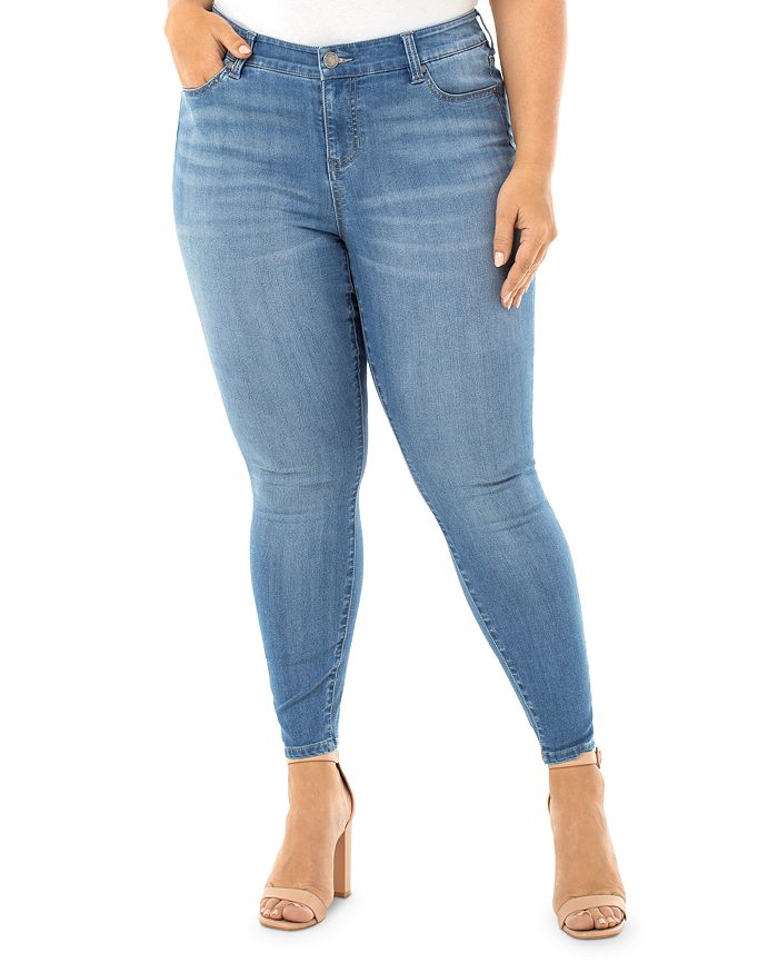 Liverpool Los Angeles Plus - Abby Skinny Ankle Jeans in Brookline