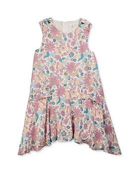 Chloé - Girls' Floral Blossom Asymmetric Dress - Little Kid, Big Kid