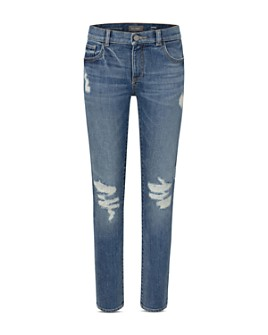 DL1961 - Boys' Hawke Distressed Skinny Fit Jeans - Big Kid