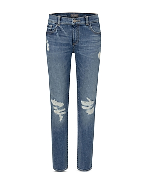 DL1961 Boys' Hawke Distressed Skinny Fit Jeans - Big Kid