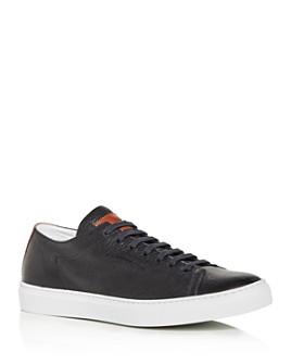 To Boot New York - Men's Ferrara Leather Low-Top Sneakers