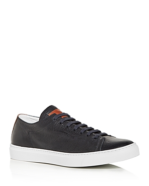 To Boot New York Men\\\'s Ferrara Leather Low-Top Sneakers