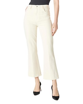 J Brand - Julia High-Rise Ankle Flare Jeans in Amaya