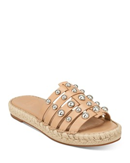Marc Fisher LTD. - Women's Tamie Embellished Flat Sandals