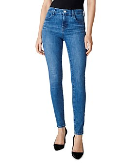 J Brand - Maria High-Rise Skinny Jeans in Heart