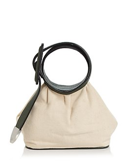 324 New York - Marianne Mini Leather & Canvas Handbag