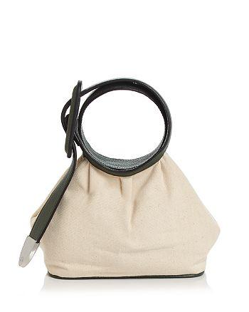324 New York - Marianne Mini Leather & Canvas Handbag