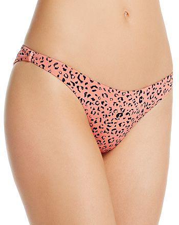 bond-eye - Sleeker Animal Print Bikini Bottom
