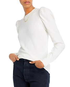 AQUA - Puff-Sleeve Sweater - 100% Exclusive