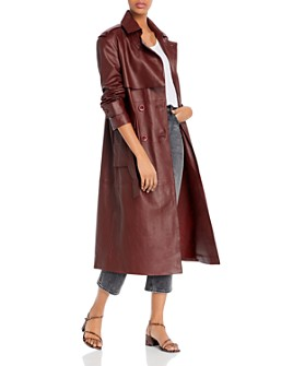 REMAIN - Pirello Leather Trench Coat