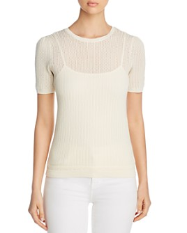 Ralph Lauren - Short-Sleeve Sweater & Camisole