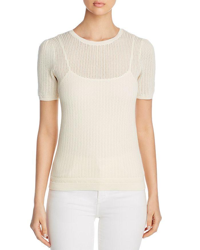 Ralph Lauren - Short-Sleeve Sweater & Camisole
