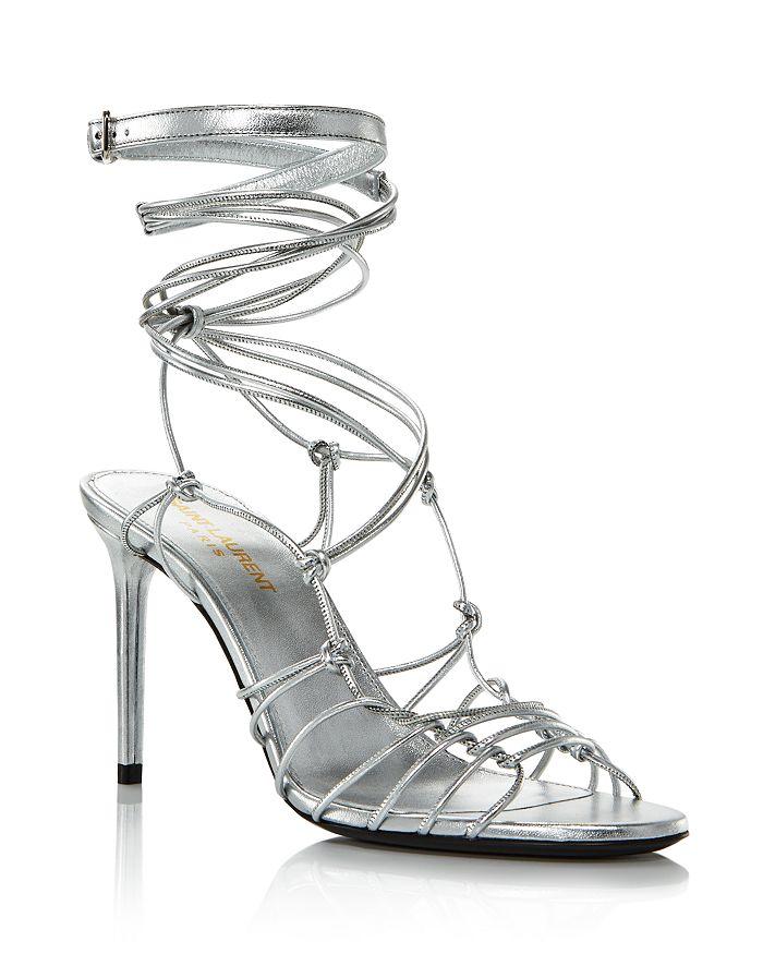 Saint Laurent - Women's Robin 85 Strappy High-Heel Sandals