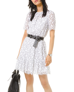 Michael Michael Kors Fringed Lace Dress-Women