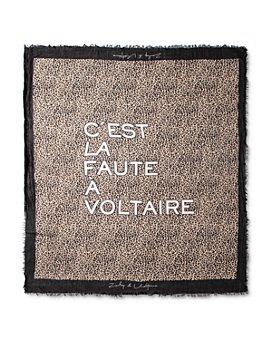 Zadig & Voltaire - Delta C'est La Faute A Voltaire Scarf