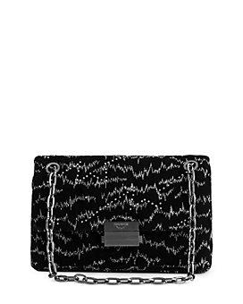 Zadig & Voltaire - Ziggy Velvet Convertible Handbag